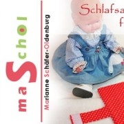 Puppenschlafsack und Wickeltasche