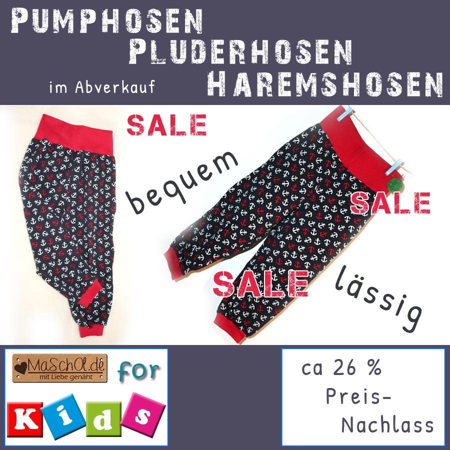 Pumphose-Pluderhose-Haremshose