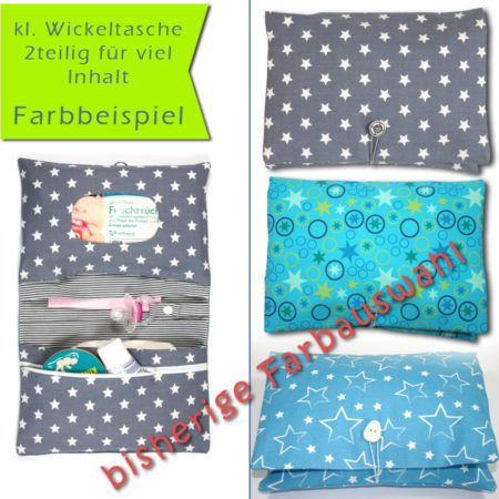 Wickeltasche plus Wickelunterlage