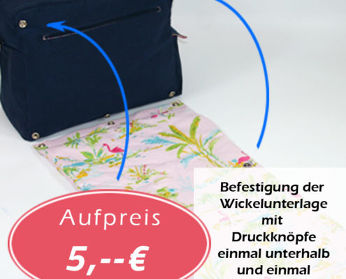 Option grosse Wickeltasche