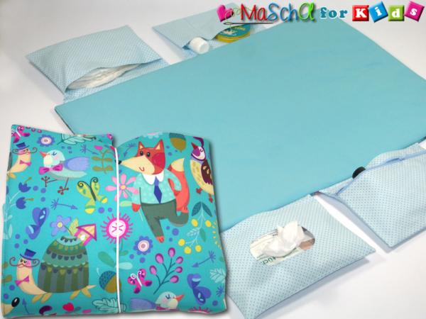 wickelunterlage f r unterwegs xl fuchs co willkommen bei maschol. Black Bedroom Furniture Sets. Home Design Ideas