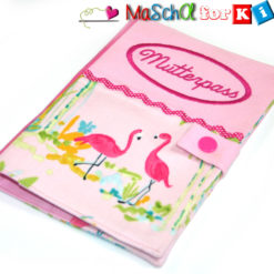 Mutterpasshülle Flamingo