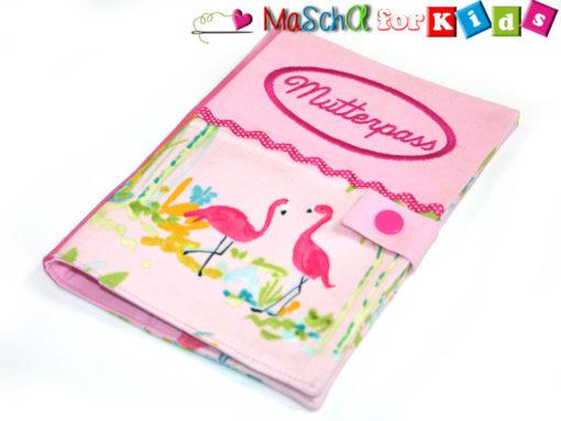 Mutterpasshülle Flamingo
