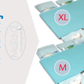 Softshell mint/blau